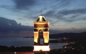 vue sur le golfe de Sagone la nuit