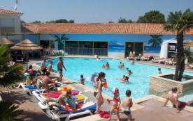 Camping 4* Oleron Loisirs -MOBILHOME 6 personnes - 3 chambres (entre 6 et 10 ans)