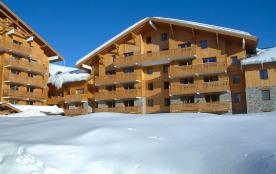 La résidence Le Sun Valley est directement située sur les pistes de Plagne soleil, à 2050 m d'alt...