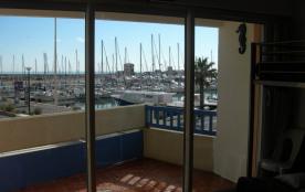 studio avec terrasse vue sur mer