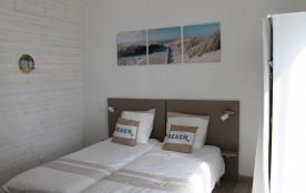 Chambre avec 2 lits séparable