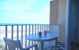 Port-la-Nouvelle (11) - Quartier plage - Résidence Le Méditerranée. Appartement 2 pièces - 35 m² ...