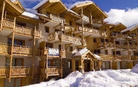Résidence Le Balcon des Airelles- appartement +cabine-BBT-