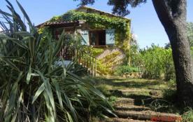 belle maisonnette climatisée très calme dans propriété privée vue campagne, vallée  et mer - Ajaccio