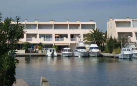 Appartement P2  à La Mer- Marina Port Camargue- Le Grau du Roi