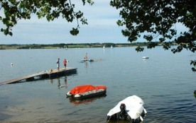 Sites & Paysages Camping BEAU RIVAGE du Lac de Pareloup - Mobil-home Cottage 2ch