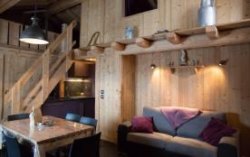 L'améthyste : Appartement cosy en Chalet NEUF / 4-6 pers / RDC / La Plagne-Paradiski / Ski alpin ski de Fond / Eté rando