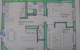 Plan de masse de la location
