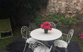 Sète centre ville maison F3 calme avec jardin et véranda