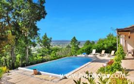 Location de cette villa de vacances dans le Gard