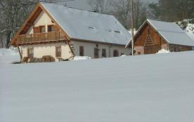 Louison en hiver!