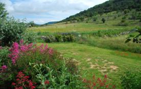 vue de la terrasse côté colline