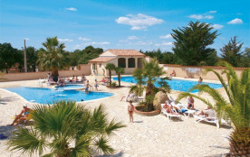 Camping La Coste Rouge 3* - Mh 2 ch 5 pers