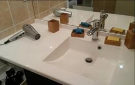 Coin lavabo de la salle de bains