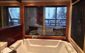 Agréable duplex  4 cristaux, refait grand confort, sauna, balnéo, cheminée...