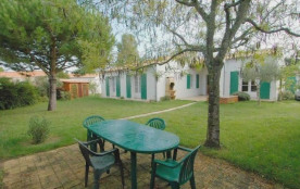 Villa individuelle de plain pied 4 pièces 6 personnes.