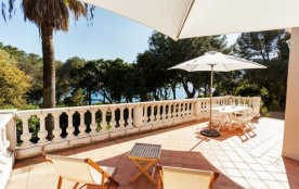 Accès plage privée St Tropez