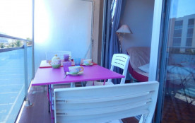 Port-la-Nouvelle (11) - Quartier plage - Résidence L'Alaric. Appartement 3 pièces de 47 m² enviro...