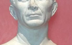 Le buste de César au Musée de l'Arles Antique
