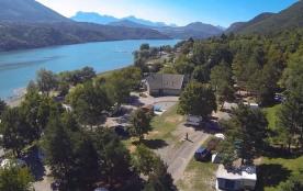 Camping de la Plage - Alpes, Vercors et Trièves, 65 emplacements, 9 locatifs