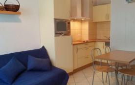 Résidence Les Myrtilles - Appartement studio de 24 m² environ pour 4 personnes.
