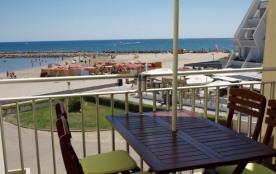 T2+Cabine accès et vue direct sur la plage