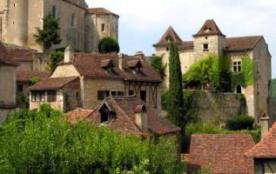 St Cirq Lapopie, un des plus beaux villages de France