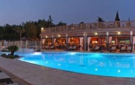 Camping La Barque - Mh Helios 2ch 4pers PMR + Terrasse