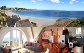 Superbe vue mer et accès direct plage - Appartement 70 m² tout confort 6-8 personnes