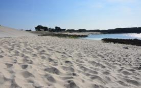 petite plage près de la maison