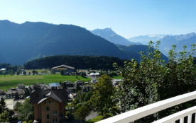 Appartement moderne Leysin (2 ch), panorama magnifique
