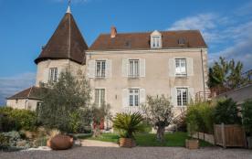 Photo Gîte de La Porte Saint Martin Châteauroux jardin privé