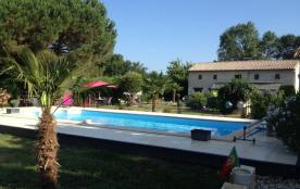 Location de vacances à Sablons à proximité de St Emilion, Gironde, Aquitaine, France