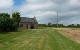 maison vue du champs