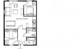 Appartement 4 pièces 8 personnes (22)
