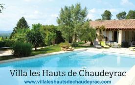 Villa 11 personnes avec piscine privée dans le Gard