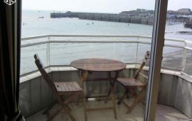 balcon devant mer