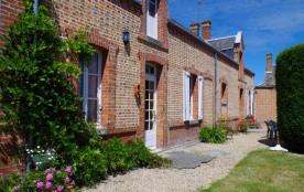 Gîtes de France - Maison solognote indépendante avec terrain privatif, située sur une exploitatio...