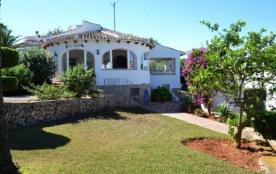 Location à Javéa d'une villa avec piscine privée et joli jardin |5052