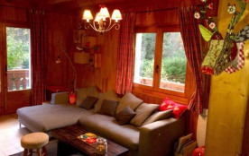 Chalet ours brun