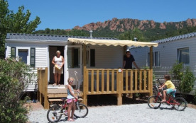 Camping La Vallée du Paradis, 198 locatifs