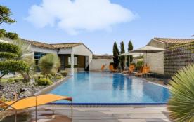 Luxueuse villa avec piscine chauffée et spa
