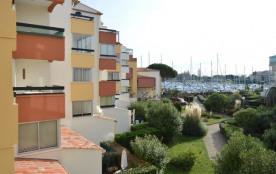 Cap d'Agde (34) - Quartier Port - Résidence L'Abbaye du Cap. Appartement deux pièces - 30 m² envi...