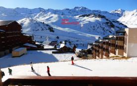 Val Thorens, appartement calme, plein sud; ski au pied pour 5/7 personnes