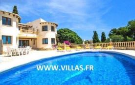Villa Ol Piali - Villa avec piscine privée pour 10 personnes située à Moraira et à seulement 900 ...