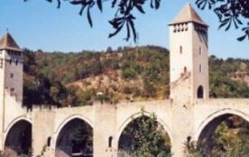 Le pont Valentré, à Cahors
