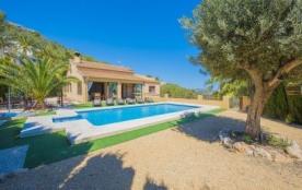 Villa OL BORA - Villa avec piscine privée située à Calpe, pour 6 personnes.