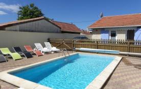 BISCARROSSE PLAGE maison avec piscine