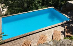 Le Bassac : Mas en pierre avec piscine