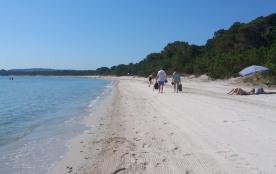 Plage de sable de Pinarello